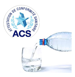 Certificat ACS - Flotteurs de niveau ATMI