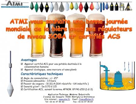 Journée mondiale de la bière avec ATMI