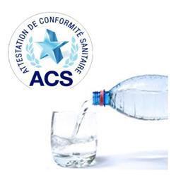 ACS Sanitary Conformity Certification