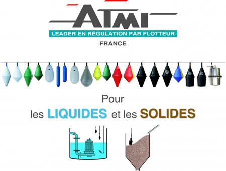 Flotteurs de Niveau pour Liquides et Solides - ATMI