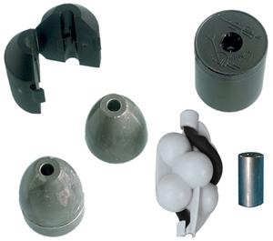 Lests externes pour détecteurs de solides ATMI