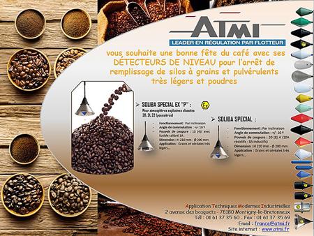 Fête du café avec les DÉTECTEURS DE NIVEAU ATMI