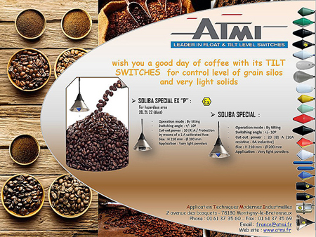 Coffee day with ATMI TILT SWITCHES