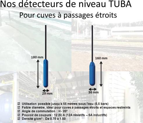 Détecteurs de niveau pour liquides - ATMI