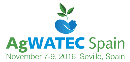 Water and agriculture technology - AgWatec Spain 2016