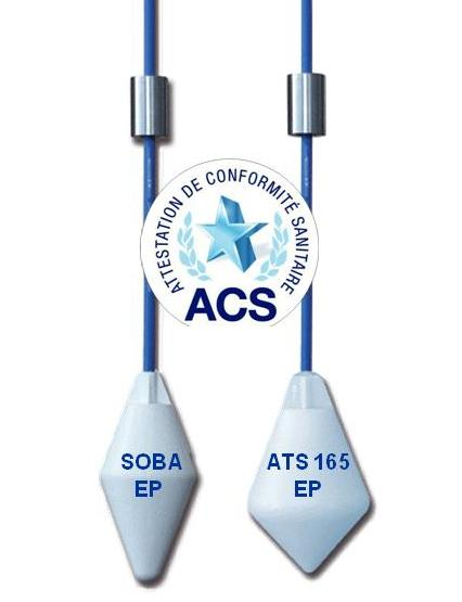 ACS Sanitary Conformity Certificate for Float Level Switches