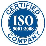 ATMI ISO 9001-2008 Certificate